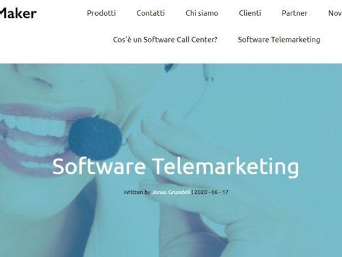Gestionale da contact center: problema risolto con Callmaker Italia
