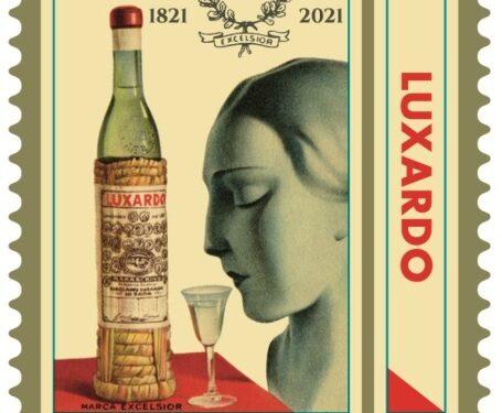 Un francobollo celebrativo per i 200 anni di Luxardo