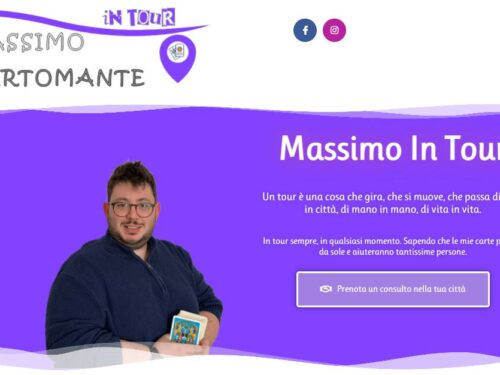 Massimo Cartomante: farà tappa anche a Roma il suo tour Magico di Arte e Cartomanzia